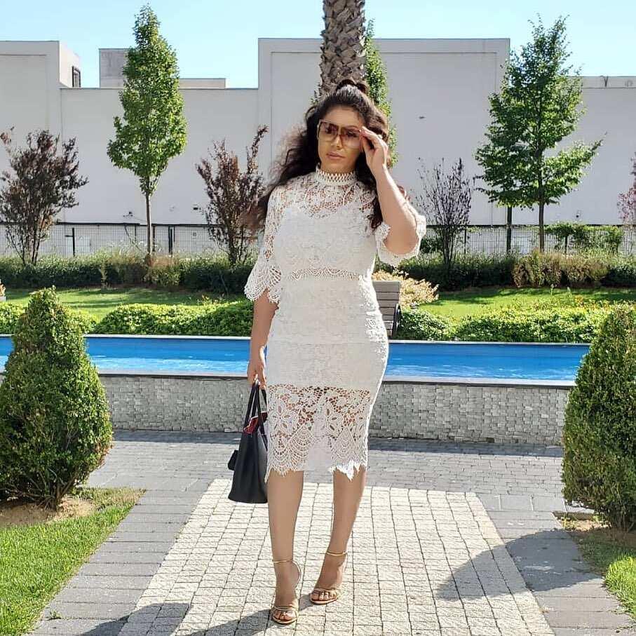 Nadia Buari dresses
