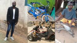 Ibrahim Sumaila: Meet the Ghanaian innovator building bikes from scrap metals that use fuel