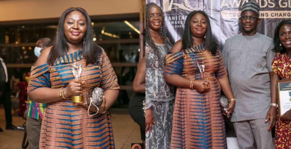 Abiola Marufatu Bawuah: Ghanaian Woman who Leads UBA West Africa Named Humanitarian of the Year