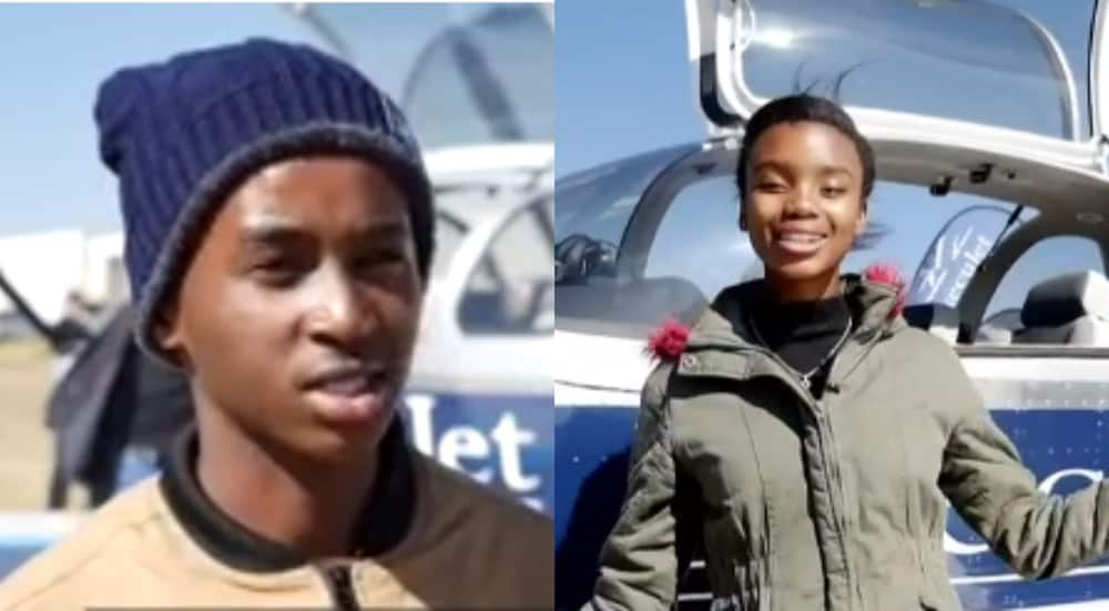 Young African inventors fly from Cape to Cairo in homemade plane