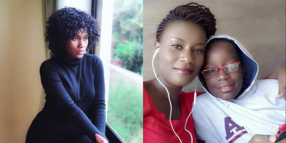 Juliana Kanyomozi pays tribute to her late son.