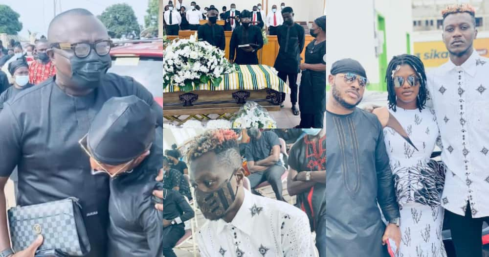 Bola Ray, Iona, others mourn with Keche Andrew as he buries his father