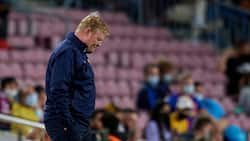 Barcelona Boss Koeman gives stunning statement, walks out of press conference without answering any question