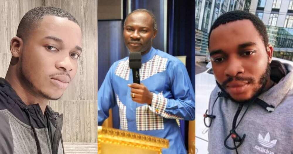 Monfa no nkor Ankaful - Twene Jonas descends on Badu Kobi over failed prophecies