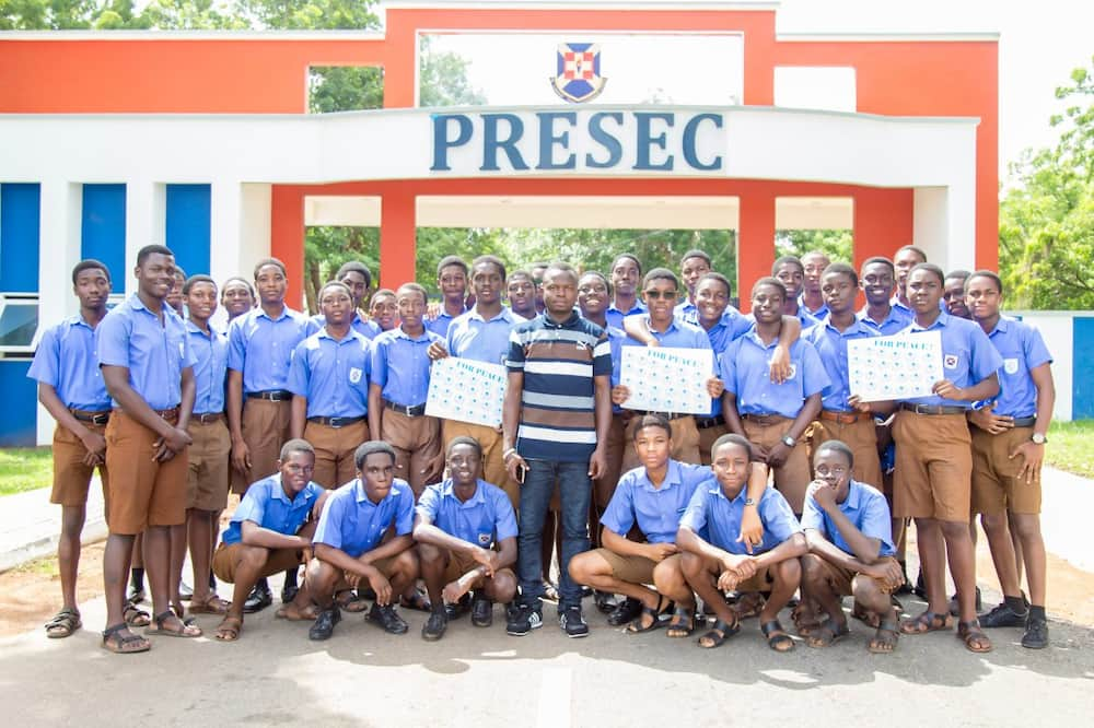 Father discovers that all his 3 sons at Presec have contracted COVID-19