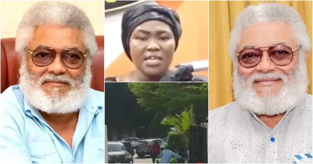 Rawlings: Lady storms JJ's house claiming Atta Mills has asked her to resurrect him