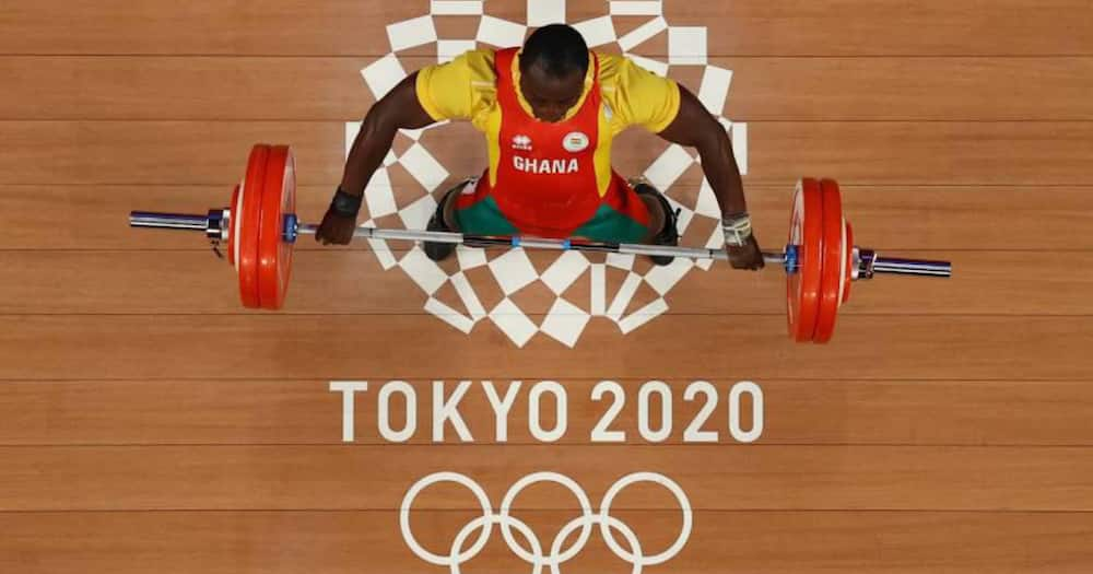 Tokyo 2020: Another fallen Olympian as weightlifter Christian Amoah exits