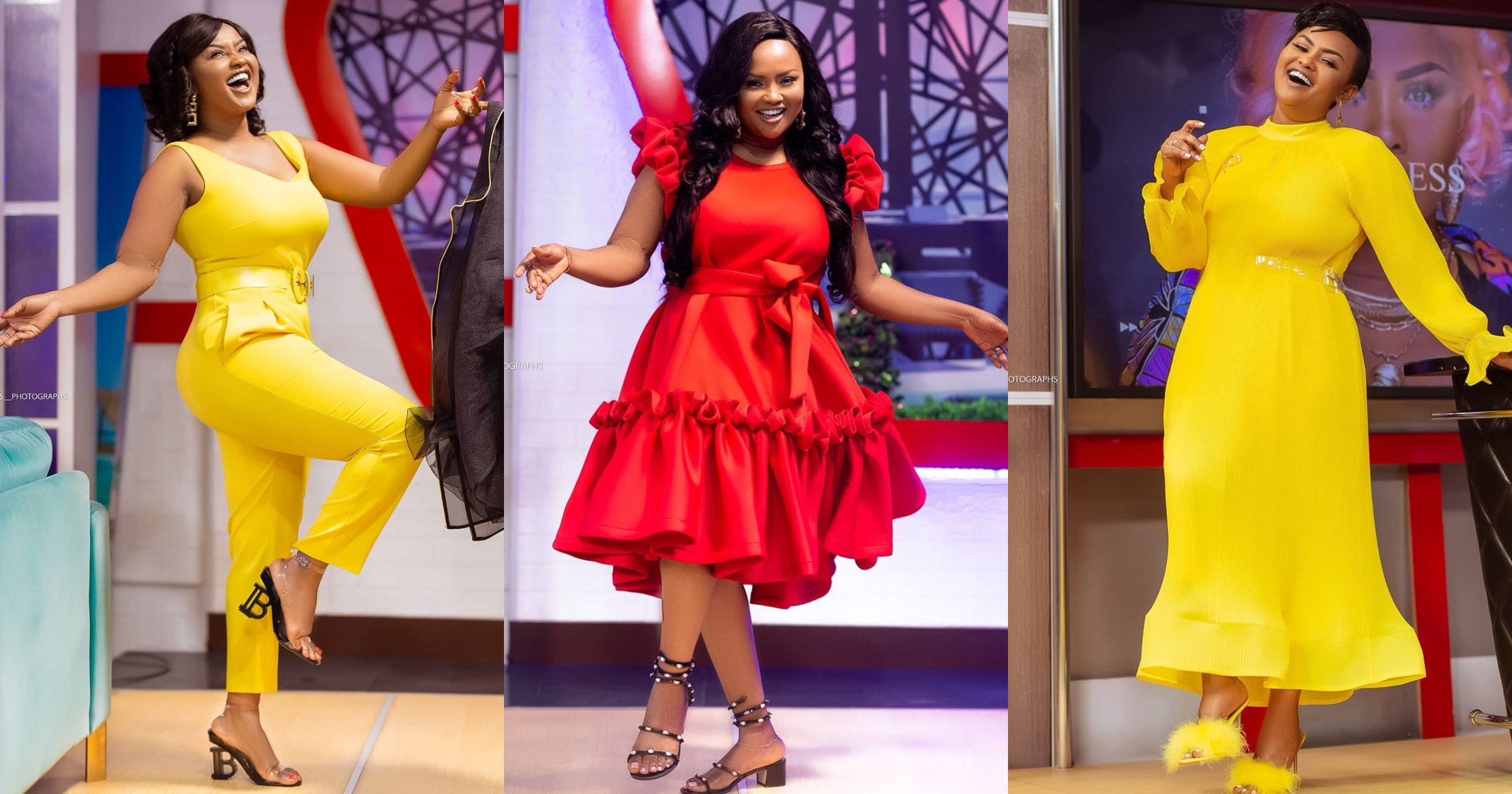 Nana Ama McBrown flaunts all her stepkids in lovely family photo