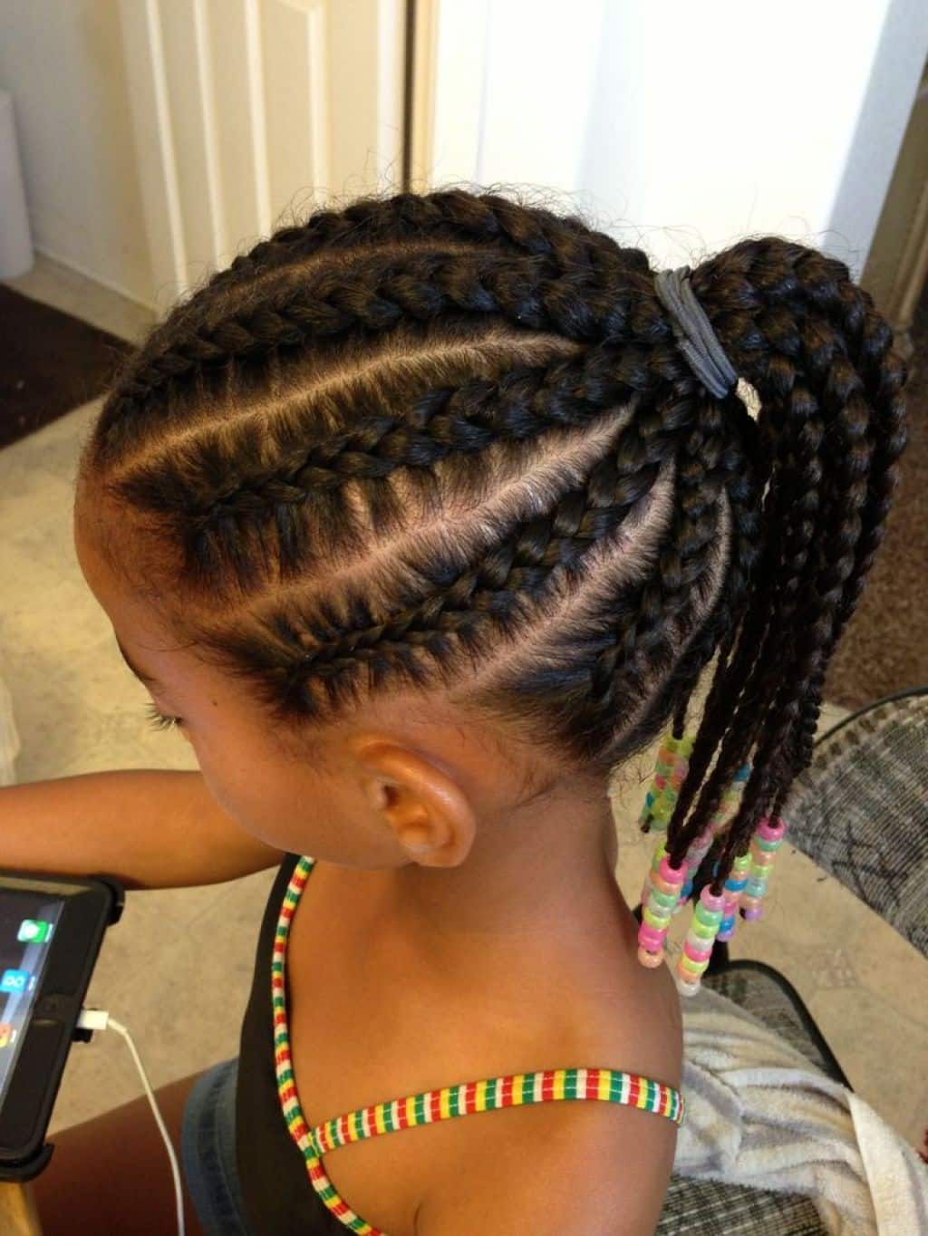 Best 25 Beautiful African Braids for Kids in 2019 YEN.COM.GH