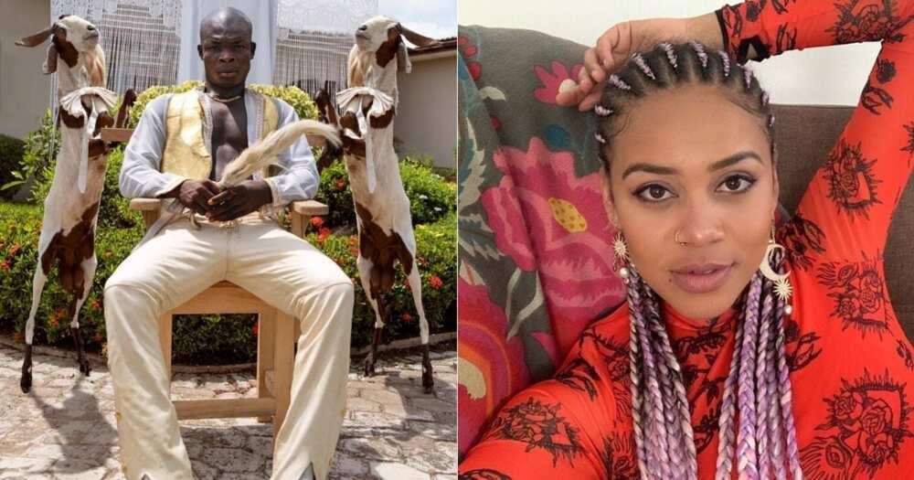 The 'Goat' Wants Sho Madjozi: Ghanaian Rapper Shoots Shot at Collab