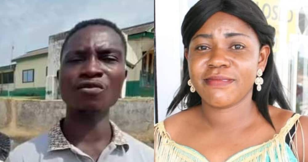 My wife was truly pregnant - Husband of Takoradi missing but found woman gives full account in new video