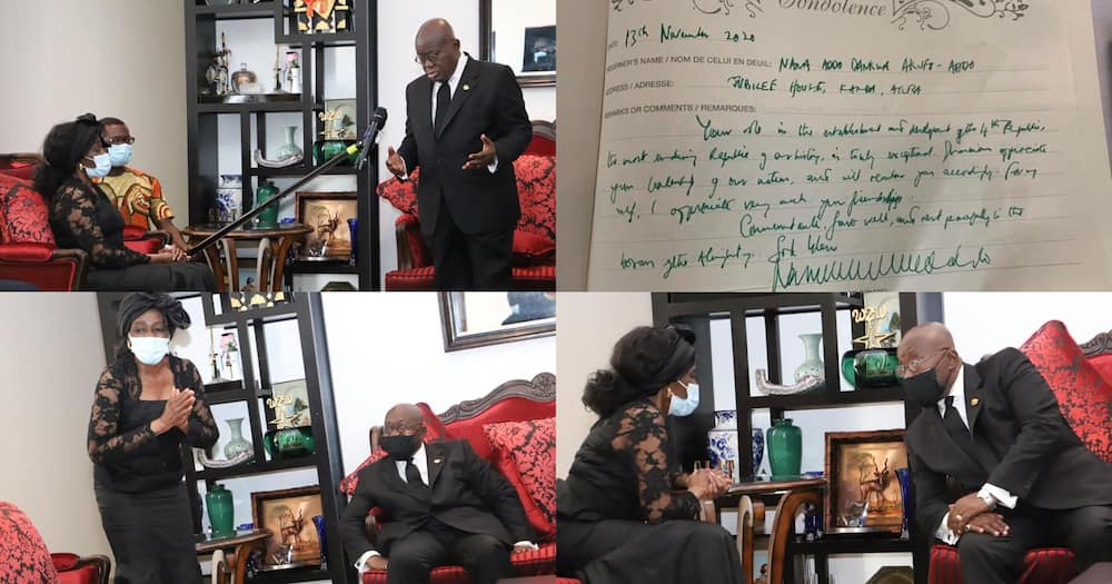 Rawlings: Akufo-Addo pays glowing tribute to former president