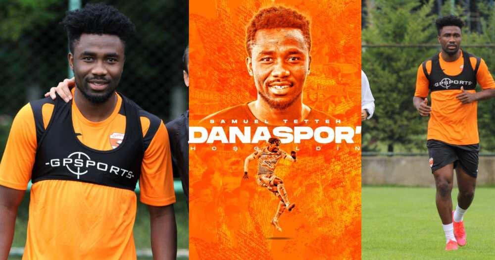 Turkish club Adanaspor sign Ghana international Samuel Tetteh; starts preseason