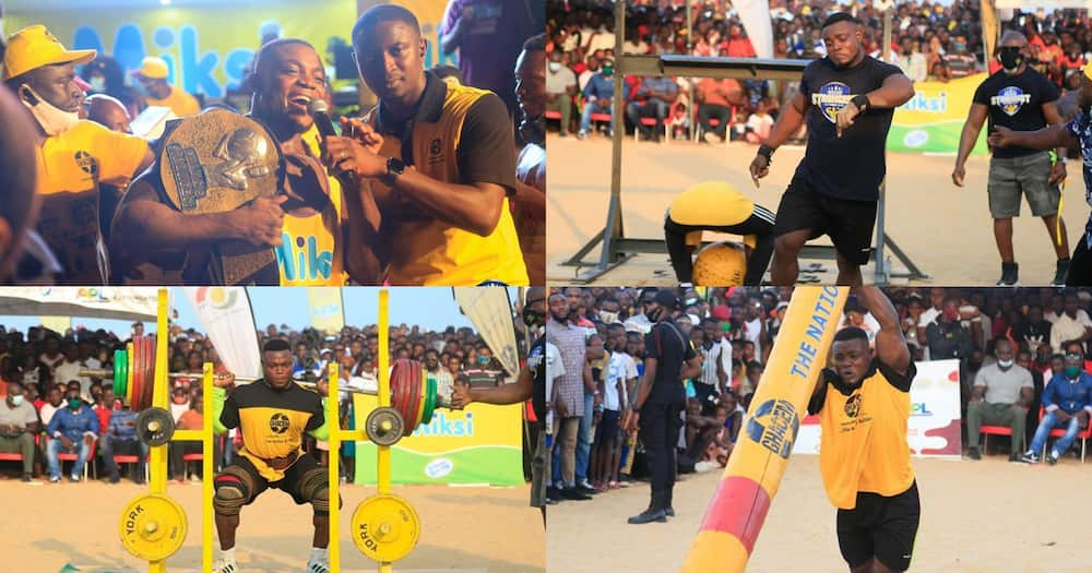 Ahmed Boakye wins Ghana's Strongest Season 9 (photos)