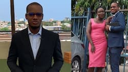 Umaru Sanda celebrates receptionist who didn't throw out his CV after submission