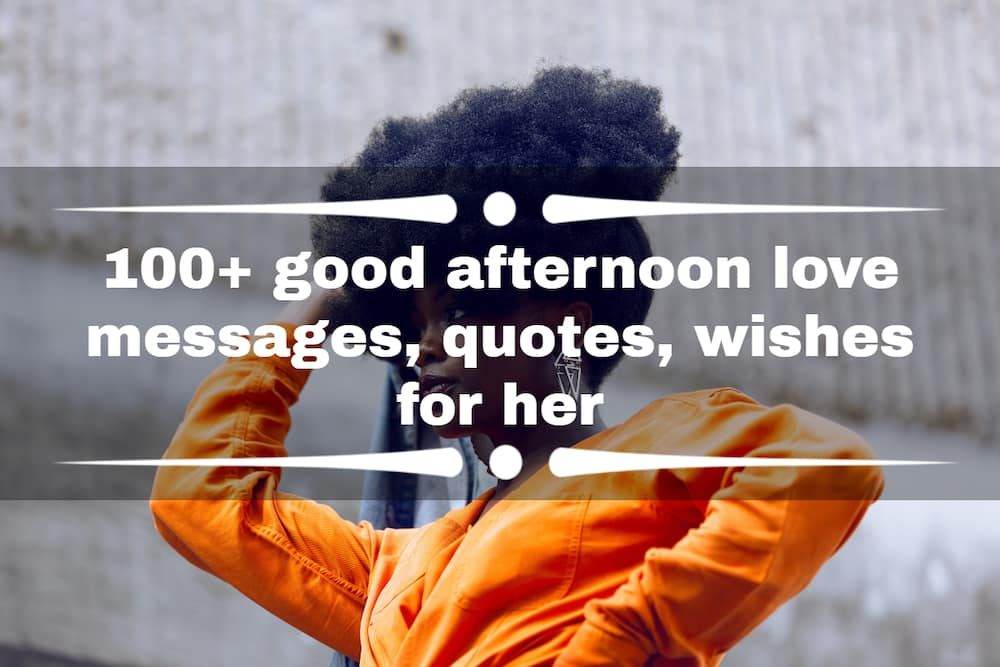 good afternoon love messages