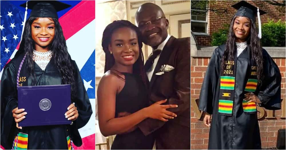 Kennedy Agyapong's daughter Anell's graduation photos