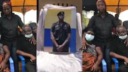 First video of the mother and father of policeman shot in Korle-Bu bullion van robbery weeping will break hearts today