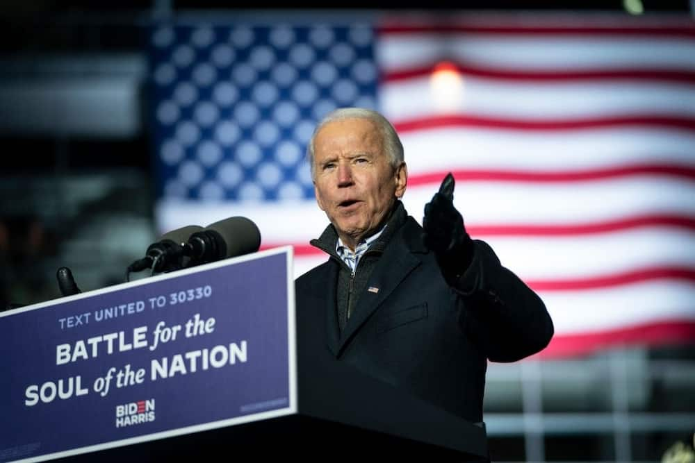 US election: Joe Biden secures the first victory in New Hampshire town