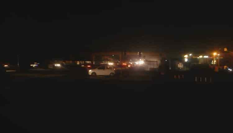 Madina - Adentan traffic lights and streetlights off again; residents live in fear