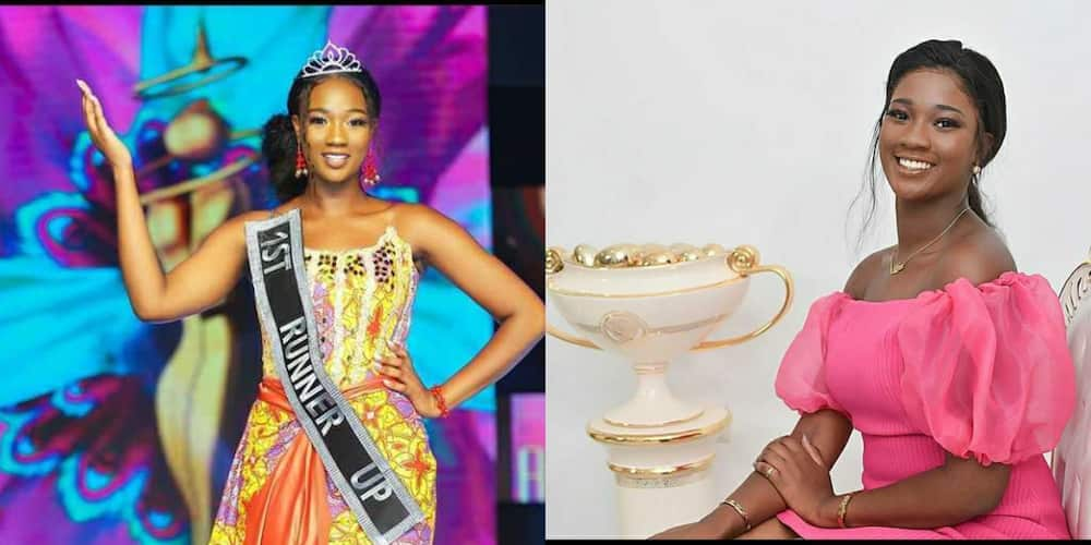 10 lovely photos of Miss Malaika's 1st Runner up Olga that shows she is truly a queen
