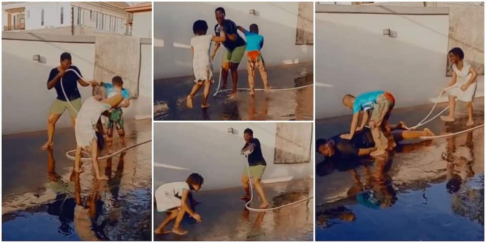 You Haven't Lived if You Don't Play Like This: Reactions as Mercy Johnson Plays Game with Kids in Funny Video