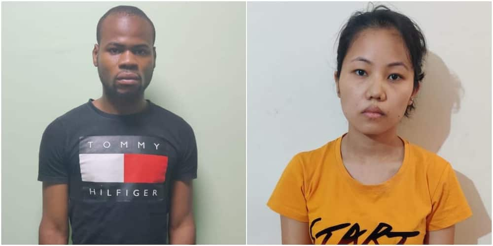 Nigerian man and Indian lover nabbed for posing as British citizens to defraud people
