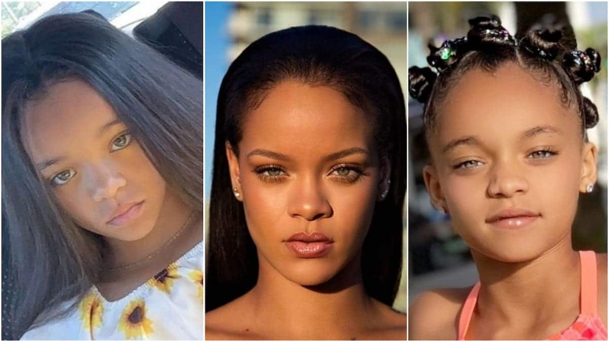7-yr-old girl who looks like Rihanna lands major modelling contract
