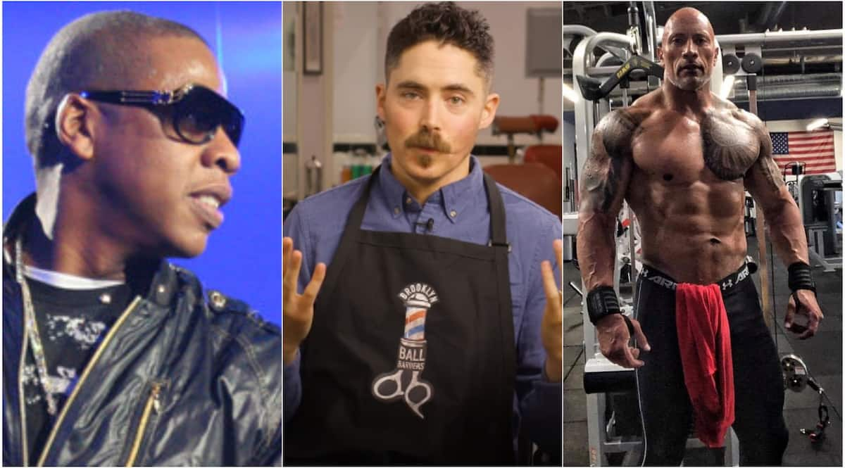 Meet the man who shaves the 'balls' of Jay-Z, The Rock and others for a living