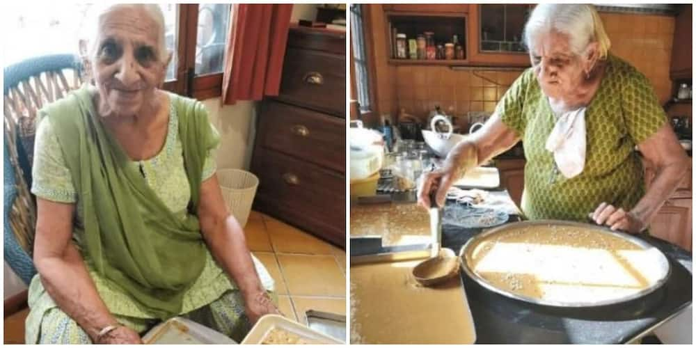 94-year-old woman fulfills childhood dream of being her own boss, sets up sweet business