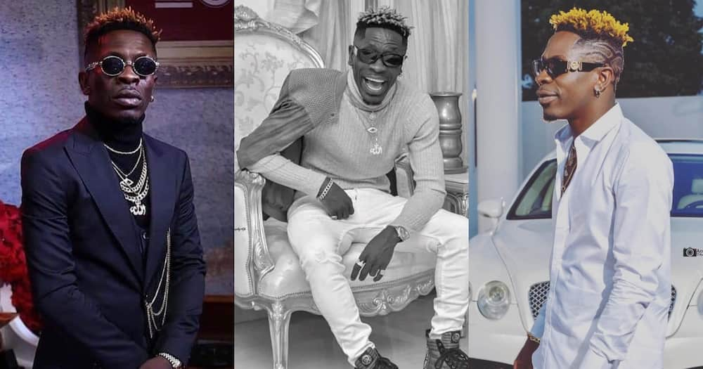 Shatta Wale attends birthday party of his 10-year-old daughter with Majesty (Video)