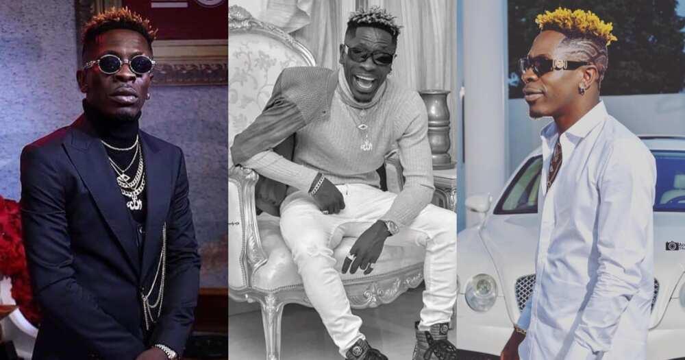 Shatta Wale to brand Ghana; drops new photos