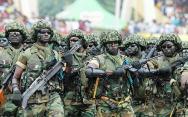 Ghana's army ranked 106th strongest in world ; Egypt is number one in Africa