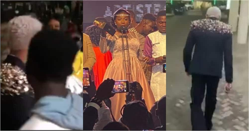 VGMA22: Video of KiDi storming out of auditorium after Diana Hamilton won Artiste of the Year emerges