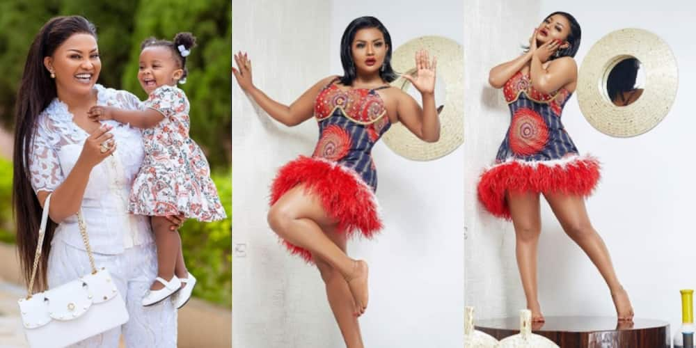 McBrown shares beautiful photos with daughter Maxin to thank God after she marked her 43rd b'day (Photos)