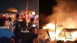 Asankragwa Market on fire; goods worth 1000s of cedis lost