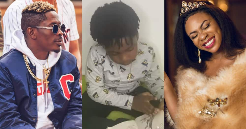 Majesty: Shatta Wale's son Reads Fluently in new Video; Ghanaians Amazed