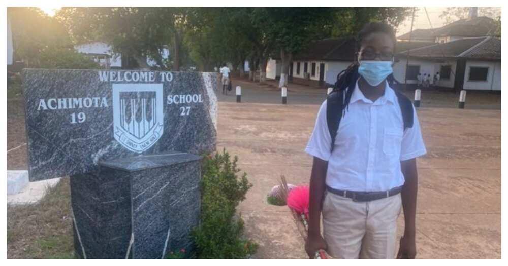 Achimota School finally admits Oheneba Nkrabea, one of the Rastafarian students