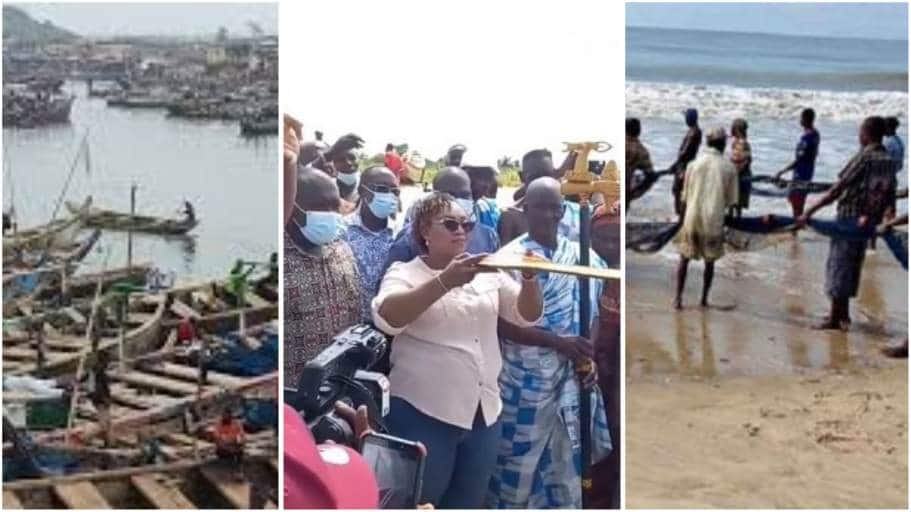 Elmina fisherfolk apologize to Hawa Koomson for rejecting her food items