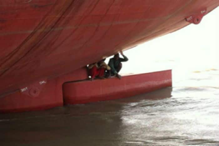 2 teenagers caught and sent back to Ghana after 'stealing ship' to Belgium