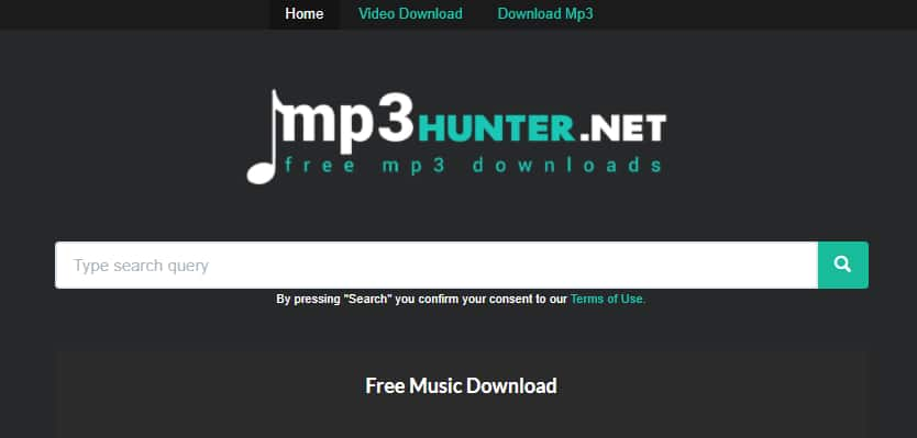 MP3 Music Download Hunter