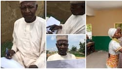 I want to know ABC before I die - 62-Year-Old man who has never been to school cries