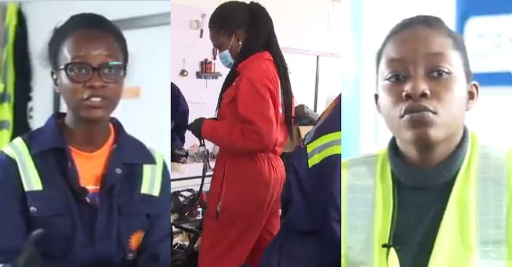3 female Ghanaian engineers begin assembling electric solar cars locally