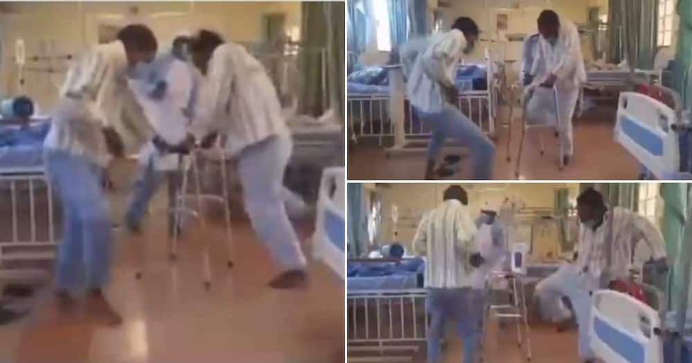 Mzansi can't deal with video of patients dancing in hospital ward