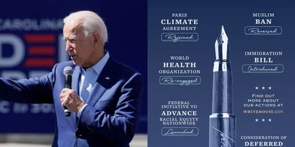 List of things President Biden has achievements since assuming Oval office
