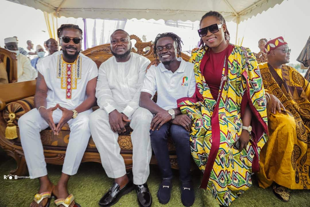 Samini and Lil Win join Joyce Blessing to perform as Chief Imam installs Clemence Gyato as Peace Ambassador