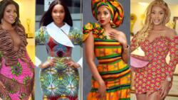 11 beautiful photos of Kumawood actress Benedicta Gafah making African prints trendy