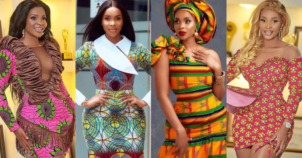 Benedicta Gafah: 11 Photos Of Kumawood Actress Giving African Print Style Goals