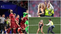 Champions League final streaker claims Liverpool stars sent her messages after daring stunt