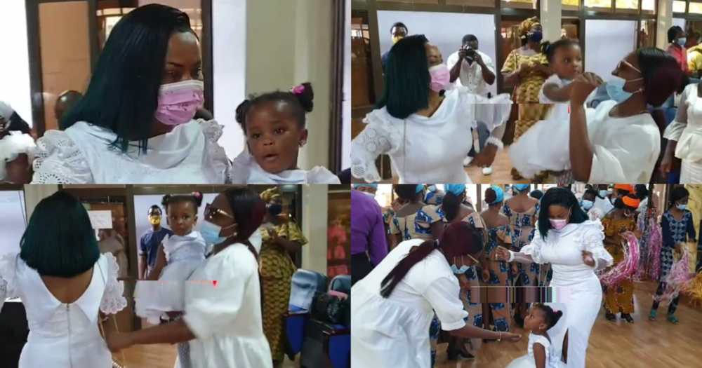 Baby Maxin 2nd Birthday: McBrown Dances With Daughter During Thanksgiving In Church
